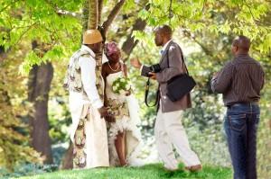 Bryllup i parken